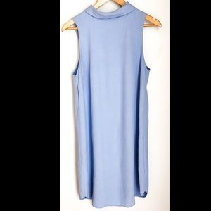 Mock Neck Collar Dress - sz 8